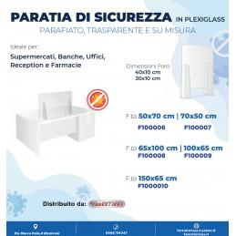 PARATIA DI SICUREZZA 65X100...