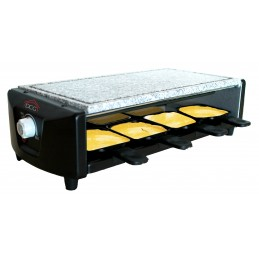 PIETRA OLLARE+RACLETTE GRILL